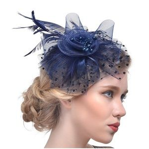 DreShow Navy fascinator